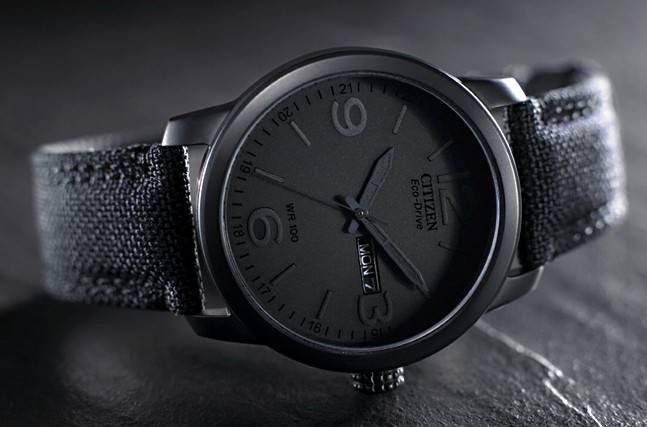 understated and beautiful citizen men s black canvas strap eco understated and beautiful citizen men s black canvas strap eco drive watch